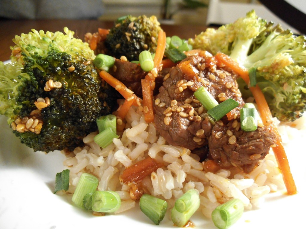 quick and easy stir fry recipe that goes well with beef, chicken ...