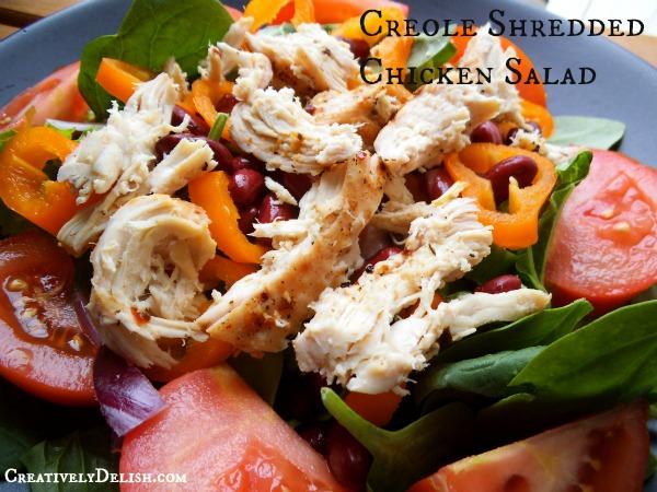 Creole Shredded Chicken