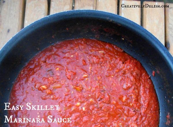 Easy Skillet Marinara Sauce