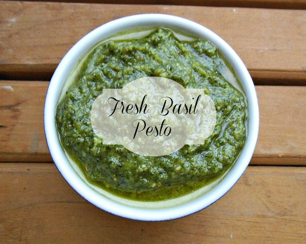Fresh Basil Pesto title