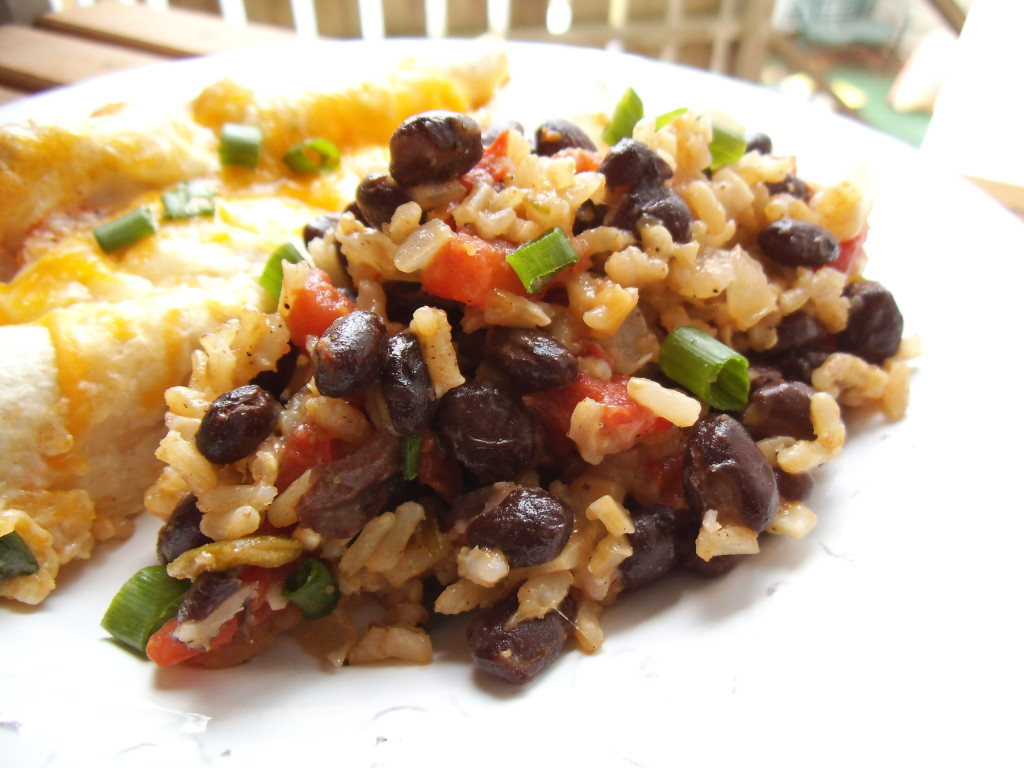 Mexican Rice And Beans Mexican rice & beans