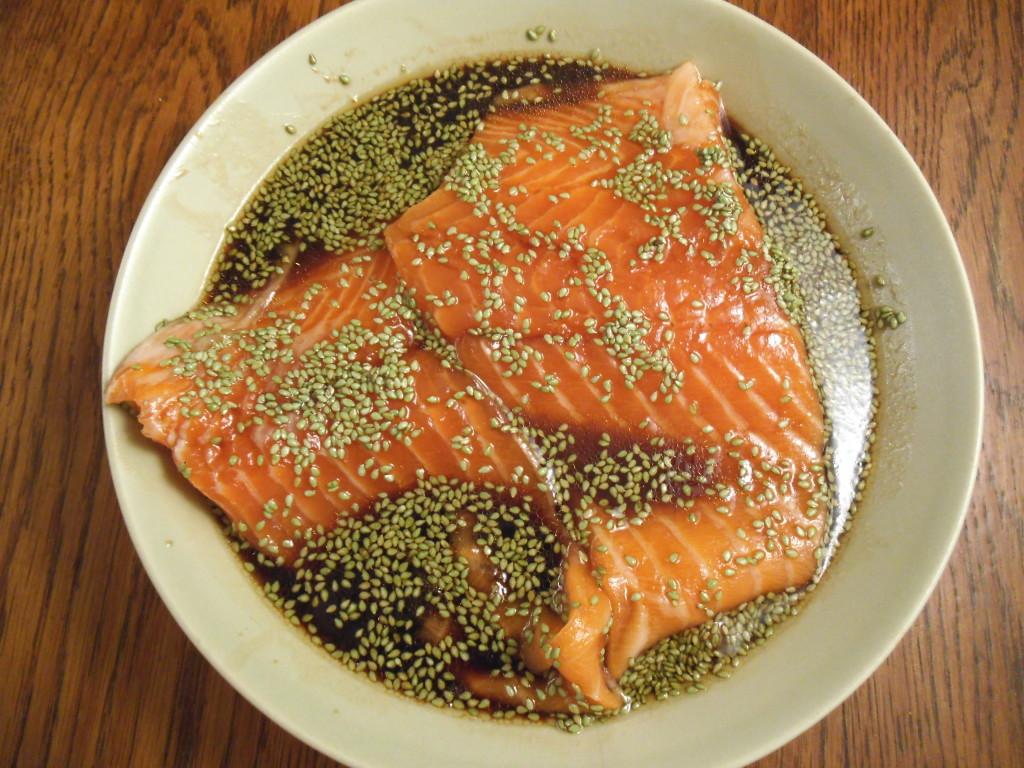 Wasabi Soy Salmon