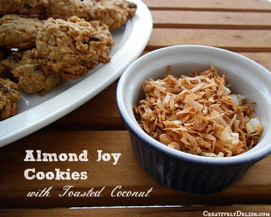Almond Joy Cookies with Coconut