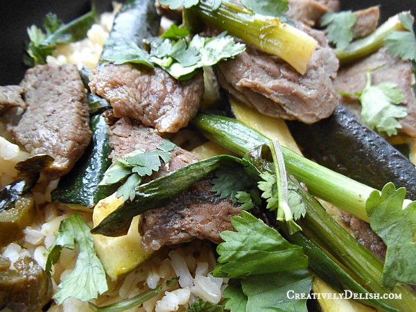 Spicy Thai Beef
