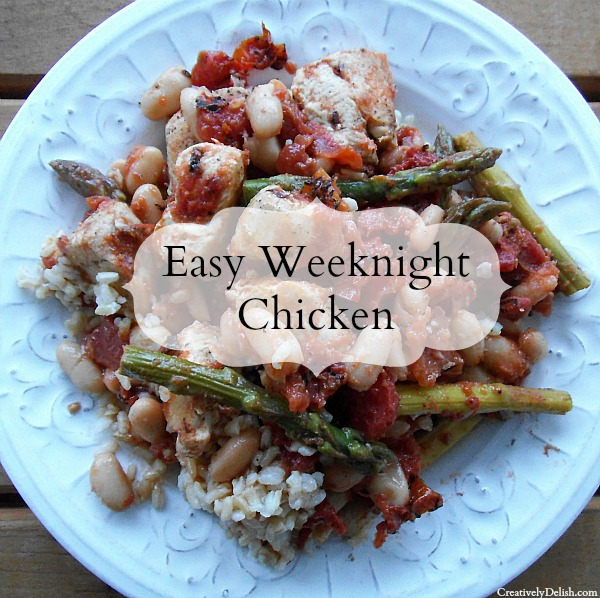 Easy Weeknight Chicken and Rice