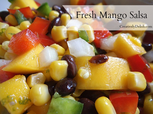 Fresh Cape Cod Mango Salsa