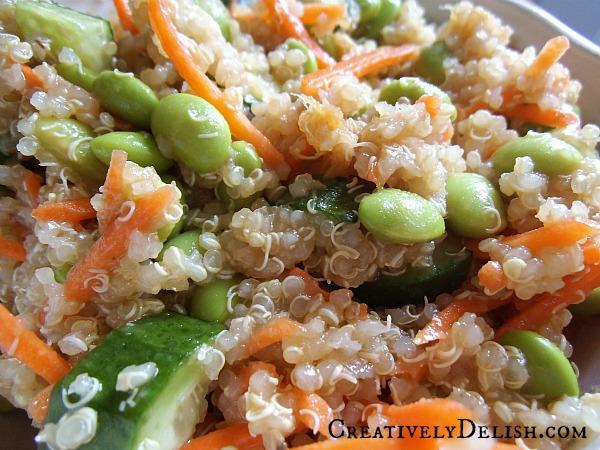 Quinoa & Edamame Clean Eating