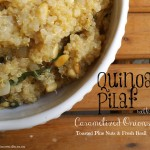 Quinoa Pilaf with Caramelized Onions