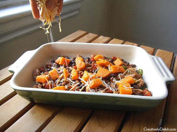 mexican lasagna 035