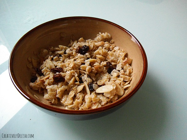 raisin oatmeal