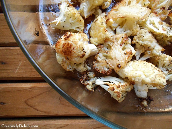 savory cauliflower