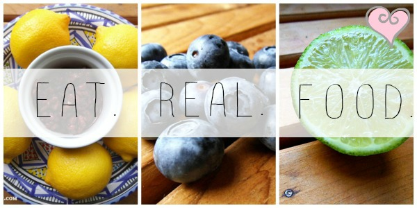 eat real food blog new