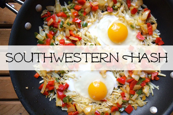 Southwestern Hash - Creatively Delish