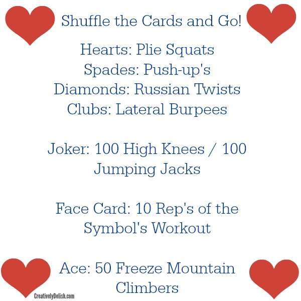 card game workout