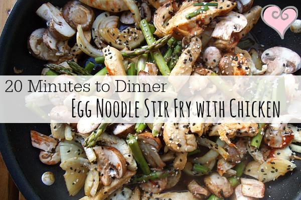 egg noodle stir fry 002