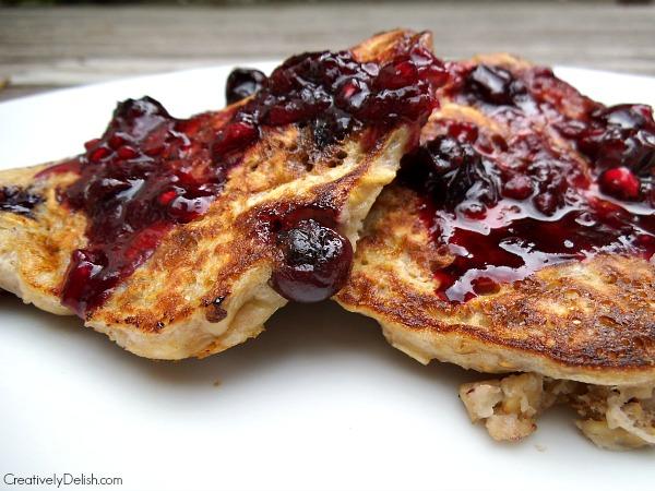 Blueberry Pancakes 027