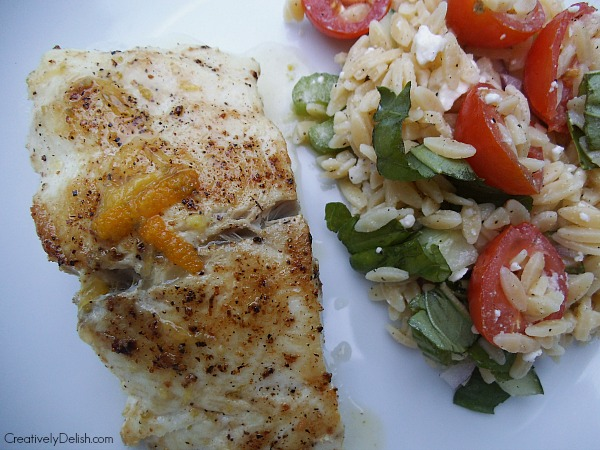 citrus fish and orzo 012