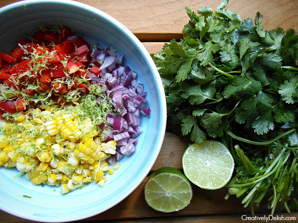 fish tacos, black bean cakes, meal planning 039