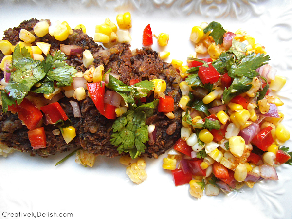 fish tacos, black bean cakes, meal planning 046