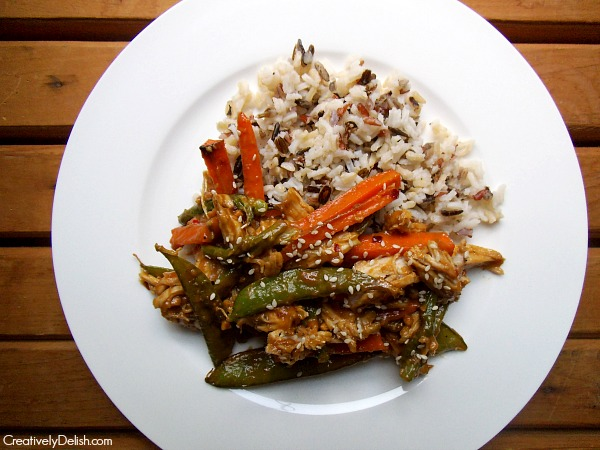 Peanut Chicken and Rice 014