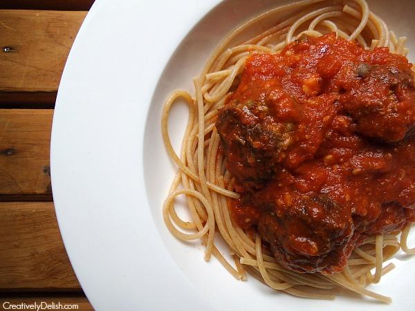 perfect italian meatball 010