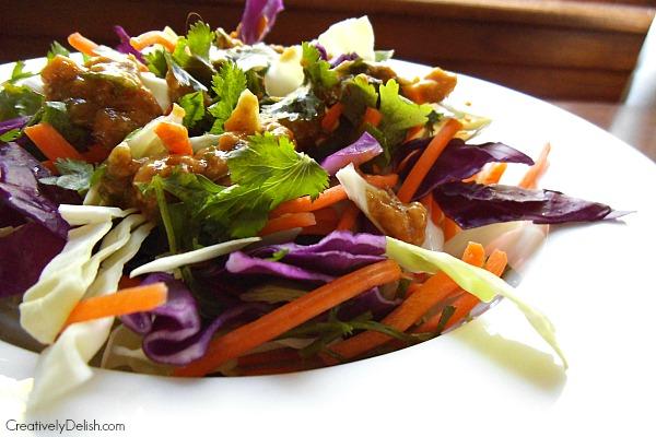 kale salad & cabbage salad 039