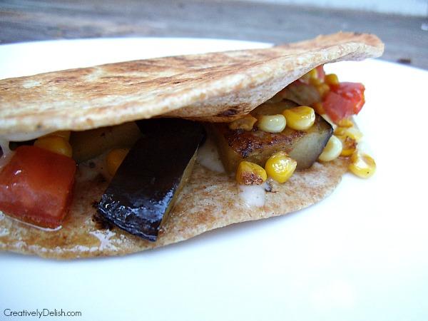 soup and eggplant quesadilla 014