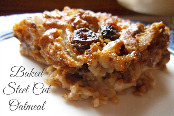 baked steel cut oats 011