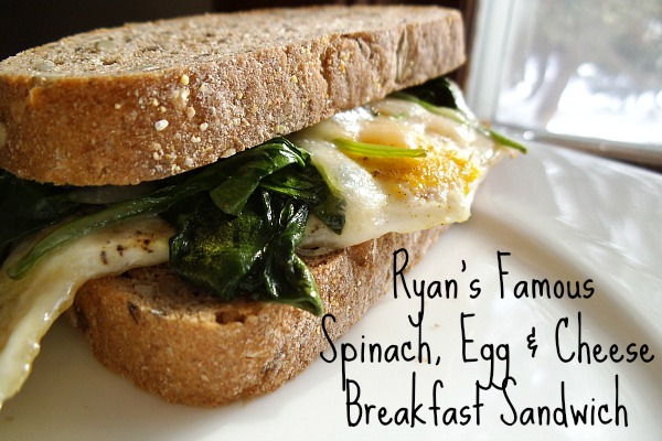 spinach and egg sandwich 004