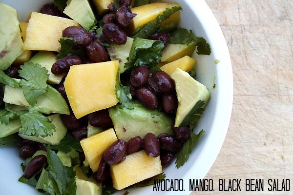 avocado mango salad 005