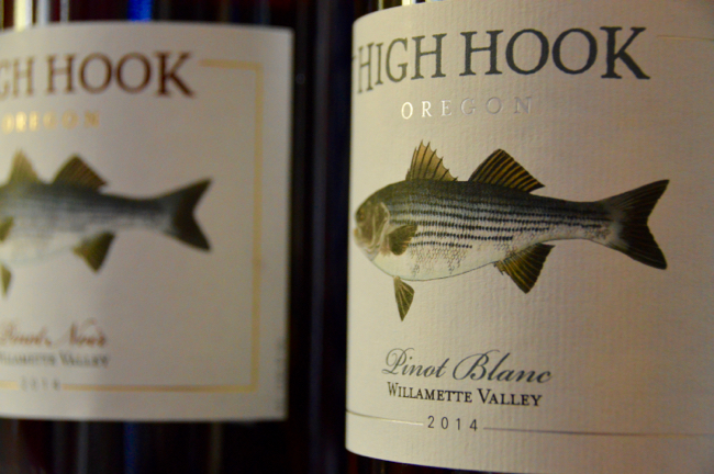 Pan seared tilapia with high hook wine for Red wine with fish