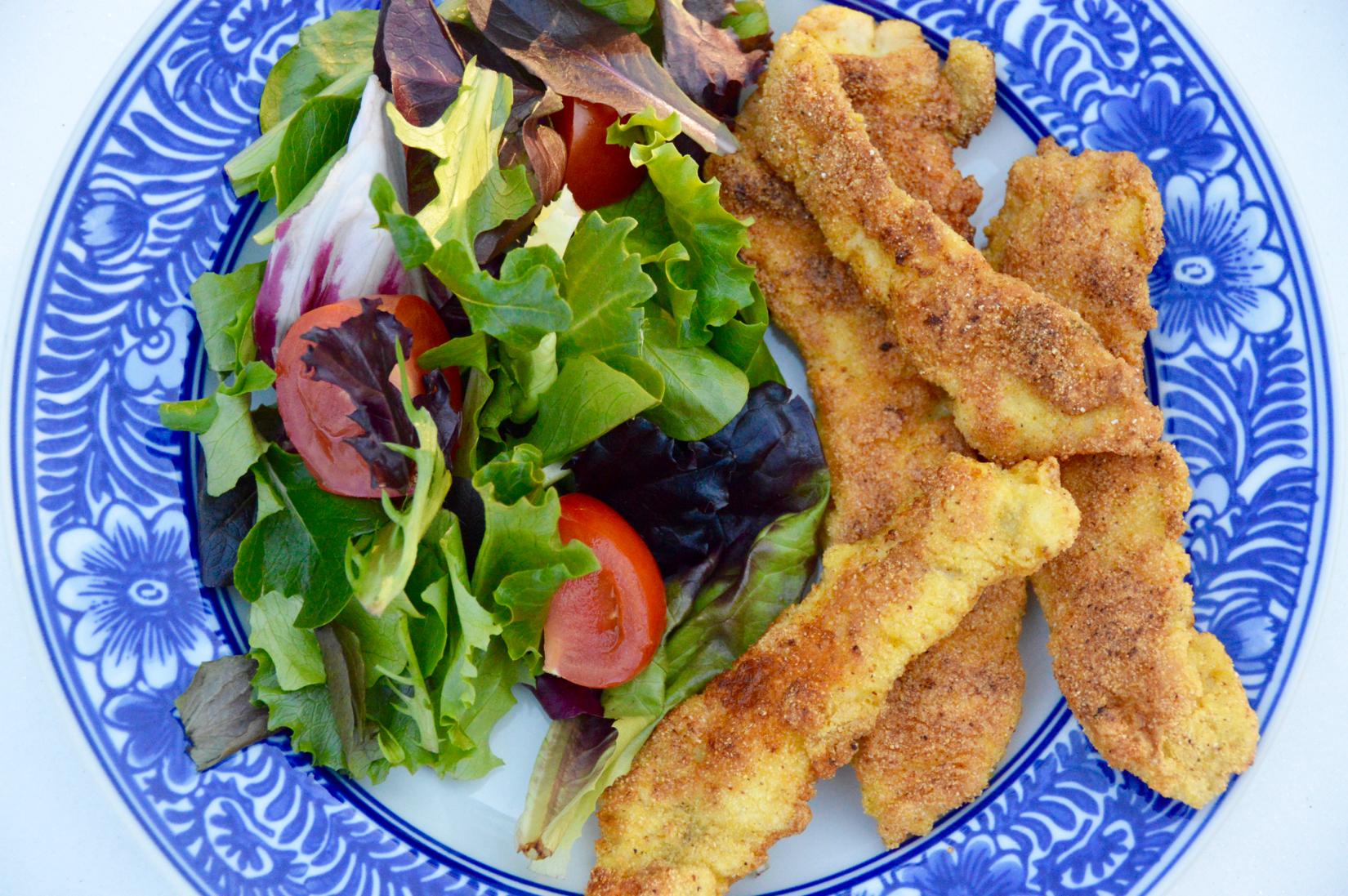 Crispy Cajun Fish Sticks Creatively Delish
