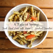 A Taste of Spring: Fresh Basil Pesto with Penne